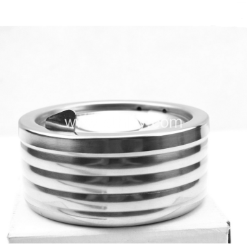 New Design Round Windproof Spinning Stainless Steel Ashtray